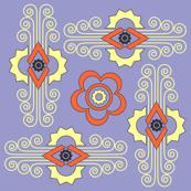 Deco Tile Lilac