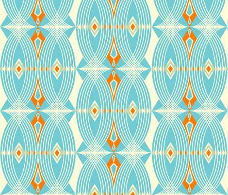 Santa Fe fabric by fable_design on Spoonflower - custom fabric