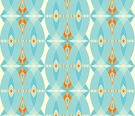 Santa Fe fabric by fable_design on Spoonflower - custom fabric
