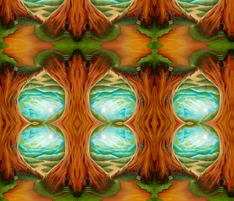 blue yonder fabric by krs_expressions on Spoonflower - custom fabric