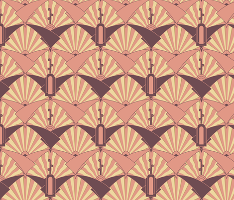 Virginia Waterleaf fabric by meduzy on Spoonflower - custom fabric
