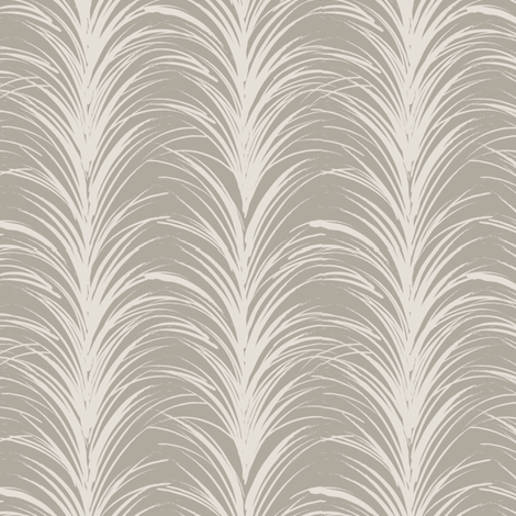 PLUME in taupe fabric by trcreative on Spoonflower - custom fabric