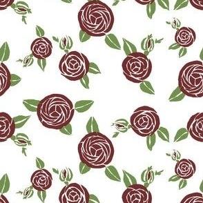 Art Deco Boulle  roses