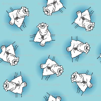 Polar Bear Takes A Break