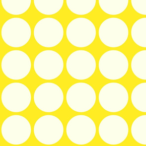 Bog Dots in Yellow & White