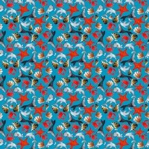 liberty des mers fond  bleu S