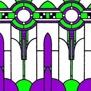 Art_Deco_purple and green