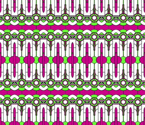 Art_Deco2 fabric by mammajamma on Spoonflower - custom fabric