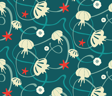Jolly Jelly fabric by villa_figura on Spoonflower - custom fabric