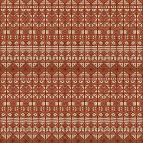 Tribal Stripe - Brown