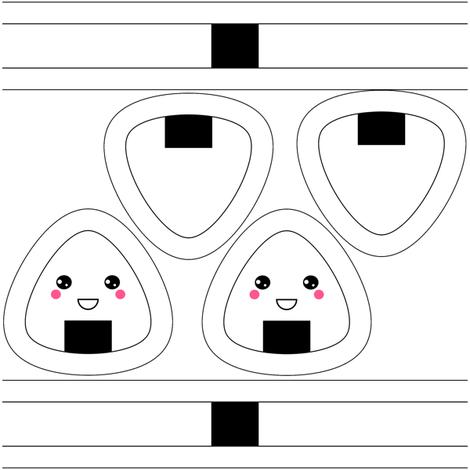 Onigiri Toy fabric by shala on Spoonflower - custom fabric