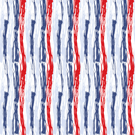 Patriotic Paint fabric by mag-o on Spoonflower - custom fabric