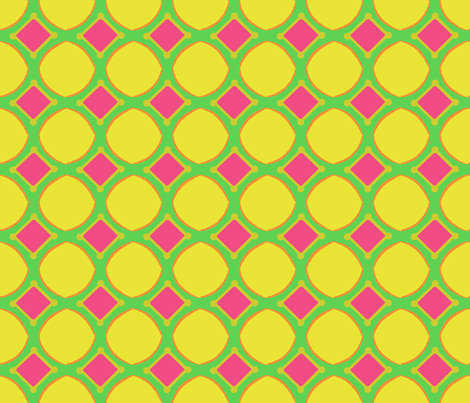 Diamond_Dolls_Citrus_Hit fabric by the_blonde_factory on Spoonflower - custom fabric