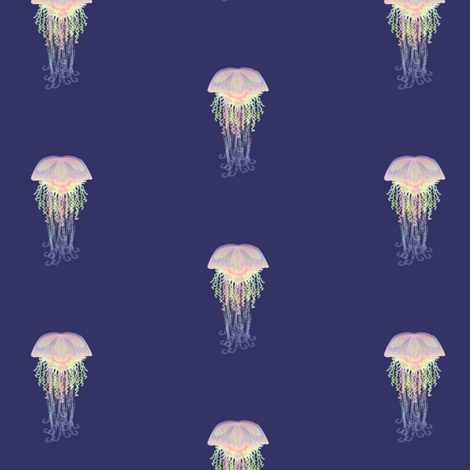Little Dabs of Jelly fabric by glimmericks on Spoonflower - custom fabric