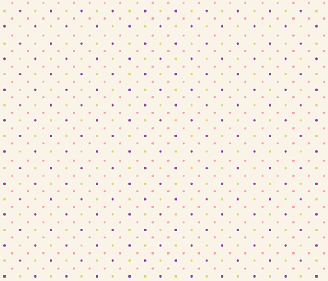 Fruit Salad Dots 2 fabric by pumpkinsandposies on Spoonflower - custom fabric