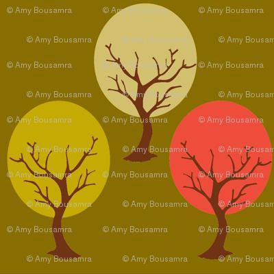 Tree sway green