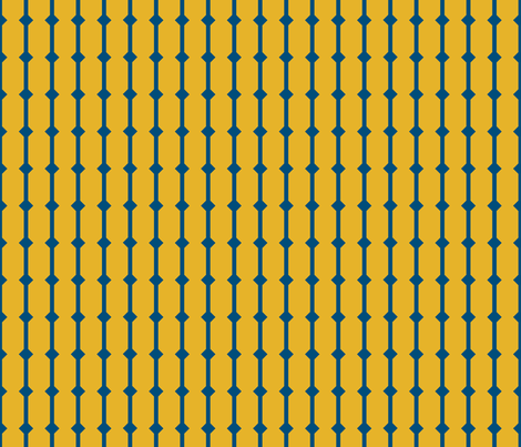 because of matthias - basic - yellow fabric by annosch on Spoonflower - custom fabric