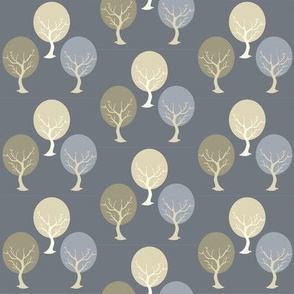 tree sway gray