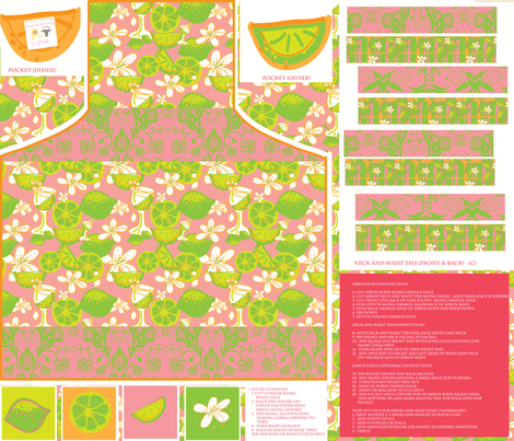 caipirinha apron fabric by fabricfarmer_by_jill_bull on Spoonflower - custom fabric