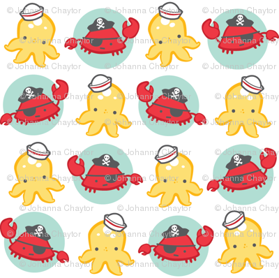 crabby little octodots