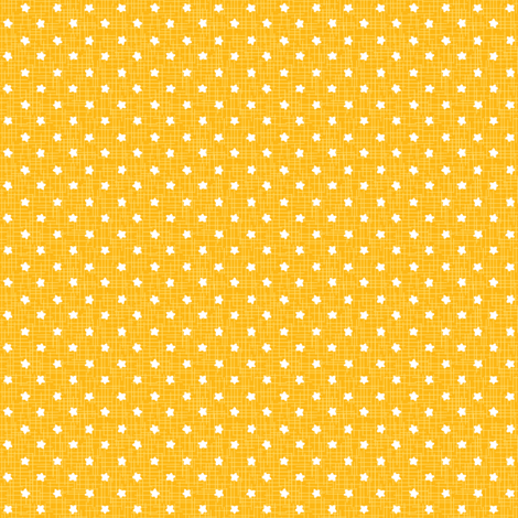 yellow sea stars fabric by charlotteandstewart on Spoonflower - custom fabric
