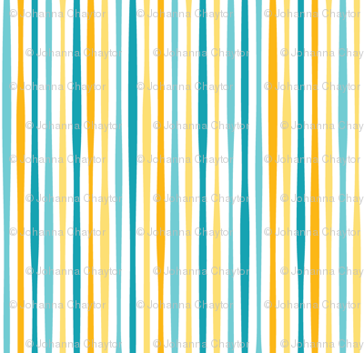yellow sea stripe