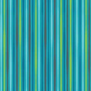 blue sea stripe