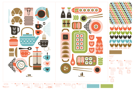 teatowels_coffee_and_sushi