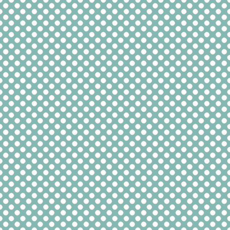 Farmhouse Dots Blue and White fabric by joanmclemore on Spoonflower - custom fabric