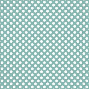 Farmhouse Dots Blue and White