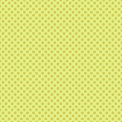 Farmhouse Dots Yellow and Gold