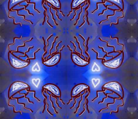Jelly_love_fabric fabric by daniellela_valle on Spoonflower - custom fabric