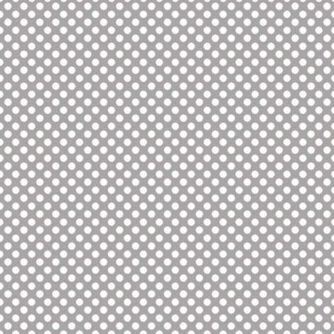 Farmhouse Dots Gray fabric by joanmclemore on Spoonflower - custom fabric