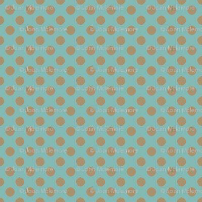 Farmhouse Dots Blue