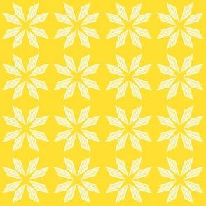 White Yellow Star