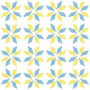 Blue Yellow Star