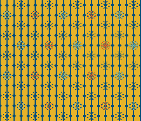 because of matthias - basic 3 fabric by annosch on Spoonflower - custom fabric