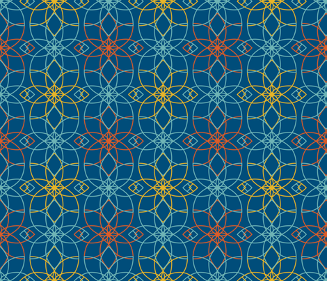 because of matthias - basic 4 fabric by annosch on Spoonflower - custom fabric