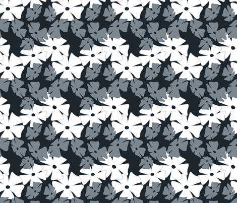 Thumbergina Cool Gray fabric by spugnardidesign on Spoonflower - custom fabric