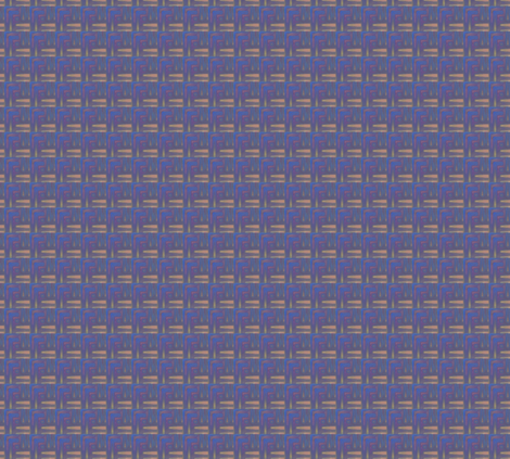 Plum and Beige Abstract Plaid © Gingezel™ 2013 fabric by gingezel on Spoonflower - custom fabric