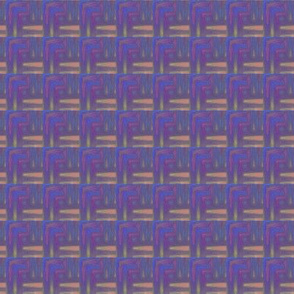 Plum and Beige Abstract Plaid © Gingezel™ 2013