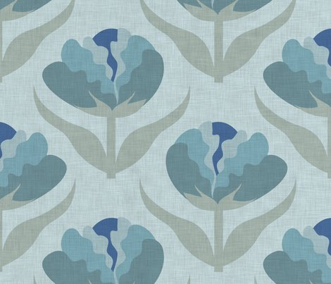 Rufflefloralblue3_linen_shop_preview