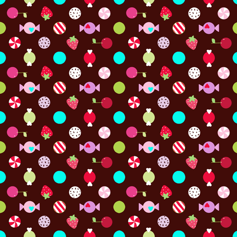 bon bons  fabric by katarina on Spoonflower - custom fabric