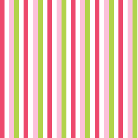 candy stripe fabric by katarina on Spoonflower - custom fabric