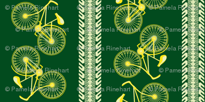 I want to ride my bicycle dandelion