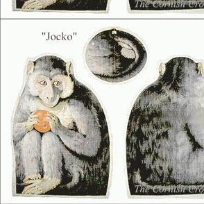 """5"""" gray Jocko"""