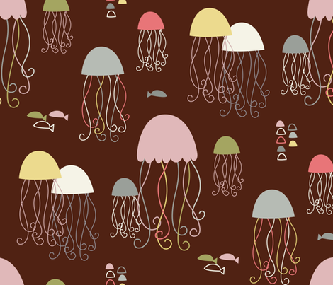 Jellybelly fish fabric by amel24 on Spoonflower - custom fabric