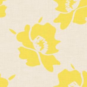 Daffodil canvas