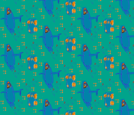 Alreds Transformer fabric by woodle_doo on Spoonflower - custom fabric