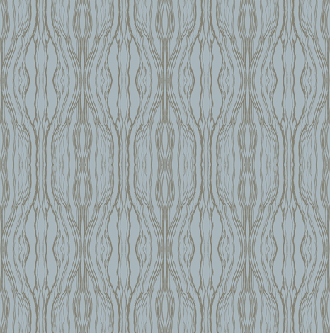 Brushstroke dark beige on soft blue fabric by sydama on Spoonflower - custom fabric